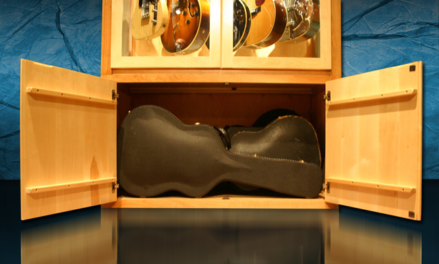Guitar Display Case Plans